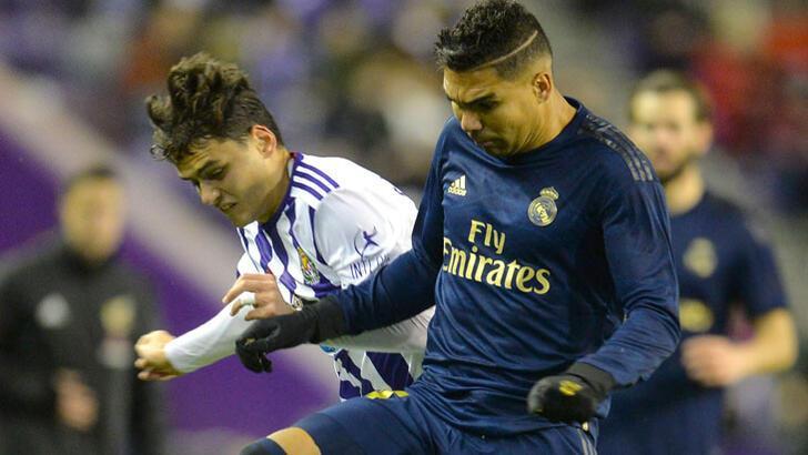 Real Madrid, Valladolid'i yenerek zirveye yükseldi! Enes Ünal...