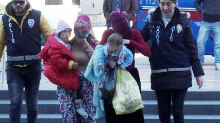 Hırsızlıktan yapan 2 kadın, cezaevine çocuklarıyla gitti!
