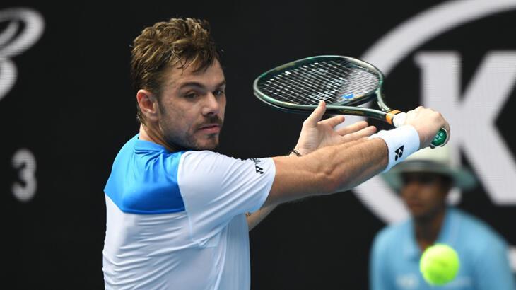 Eski şampiyon Wawrinka, 4 numaralı seribaşı Medvedev'i eledi