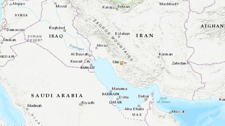 Son dakika... İran'da deprem