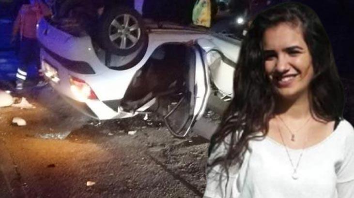 Antalya'da feci kaza! Helin öldü, sürücü yaralı