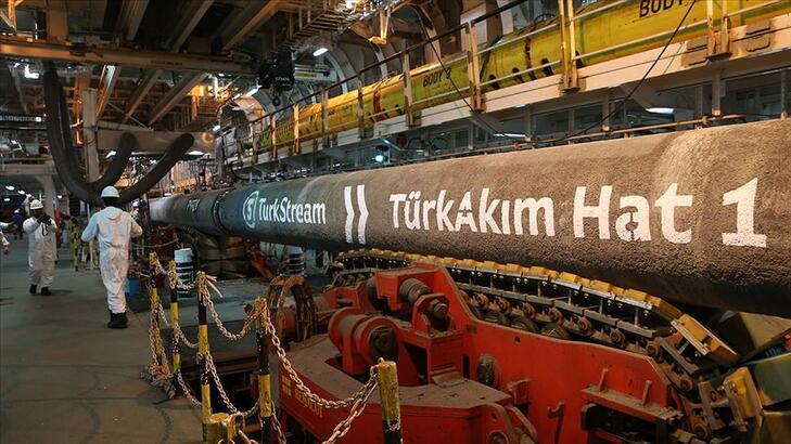 TürkAkım üzerinden ilk 1 milyar metreküp gaz sevk edildi