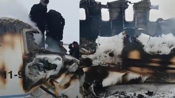 Afganistan'da düşen uçakla ilgili resmi açıklama