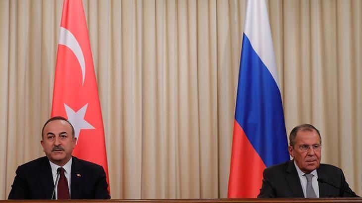 Bakan Çavuşoğlu, Rus mevkidaşıyla görüştü