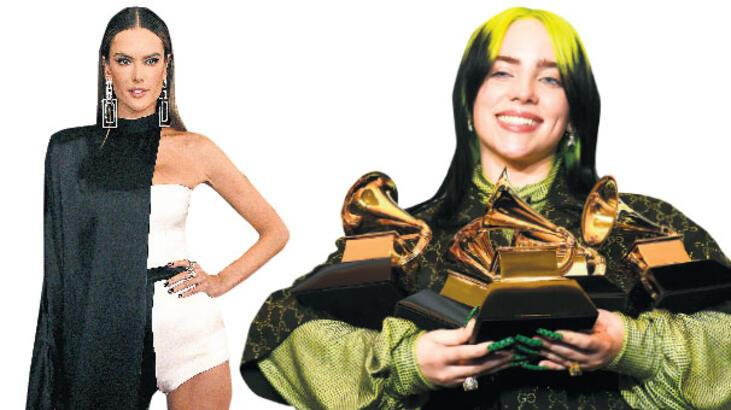 Grammy'e Billie Eilish damgası