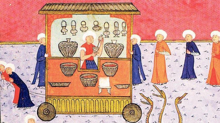 Osmanlı'da taam pişirip satanlar