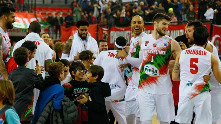 Pınar Karşıyaka, FIBA Avrupa Kupası'nda Rusya'da Enisey'le  karşılaşacak