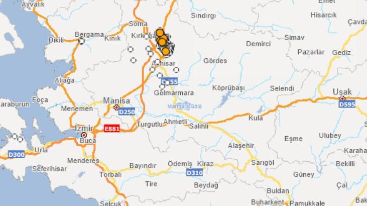 Son dakika | Manisa'da 5.1 büyüklüğünde deprem! Son depremler listesi