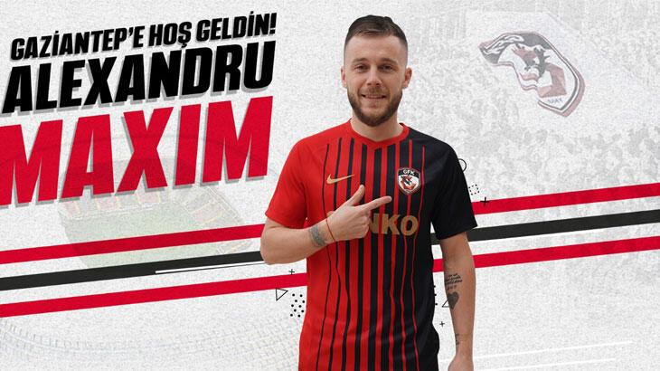 Transfer haberleri   Gaziantep FK, Alexandru Maxim'i sezon sonuna kadar kiraladı