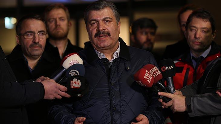 Son dakika   Sağlık Bakanı Koca'dan 'corona virüs' açıklaması: Vatandaşlarımız endişe etmesin