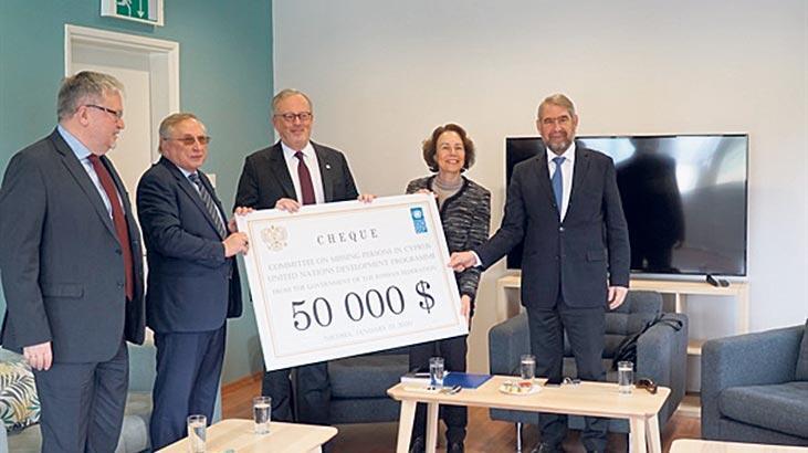 Rusya'dan 50 bin dolar bağış