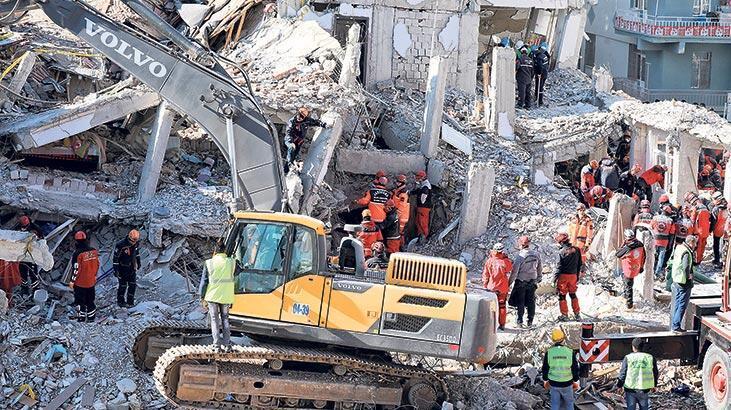 AFAD'ın Elazığ  depremine ilişkin  raporu tamam: 1900'den bu yana en şiddetlisi