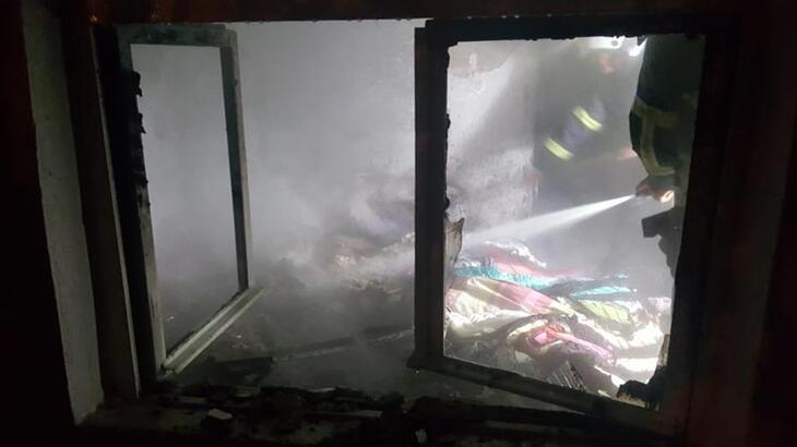 Aydın'da korkutan yangın! Tamamen yandı
