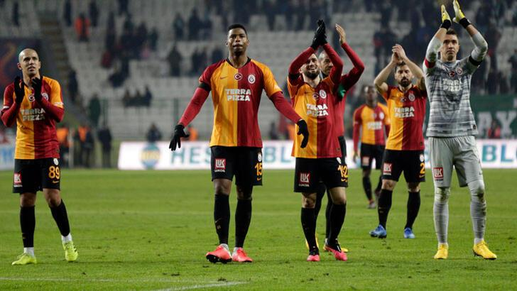 Galatasaray, Şubat'ta İstanbul'da