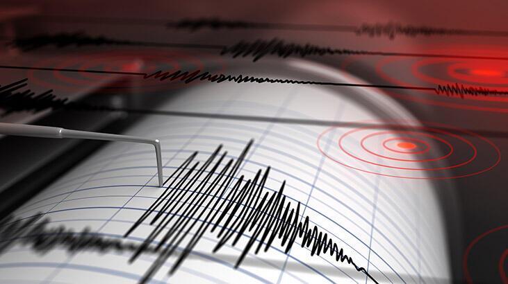 Son dakika... Manisa'da deprem! Depremin büyüklüğü...