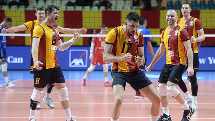 Galatasaray HDI Sigorta: 3 -  CSM Arcada: 0