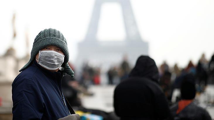 Fransa'da yeni tip koronavirüs (2019-nCoV) vaka sayısının 5'e yükseldiği bildirildi.