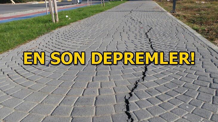Akdeniz açıklarında peş peşe depremler! Son depremler listesi! 30 Ocak Türkiye son depremler