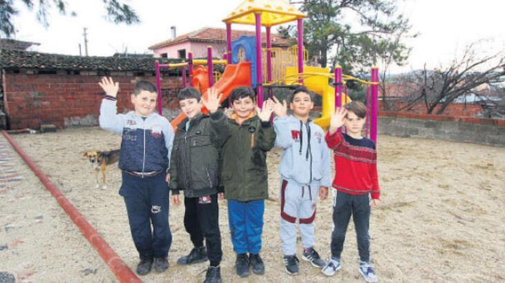 Gökçeköy'ün parkları A'dan Z'ye yenilendi