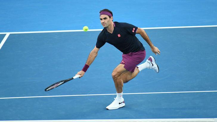 Ünlü tenisçi Roger Federer maç öncesi makarna yiyor!
