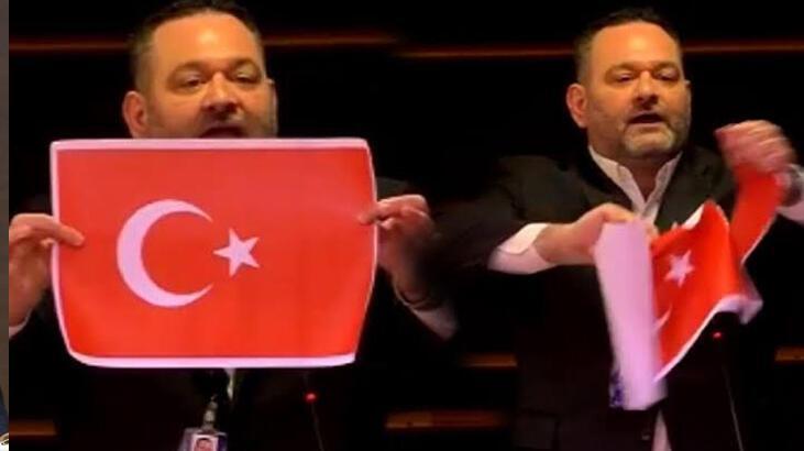 Son dakika haberi | Türk bayrağını yırtan Yunan vekille ilgili flaş gelişme