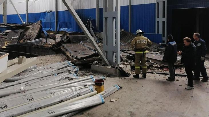 Son dakika... Rusya'da Türk işçilerin çalıştığı fabrikada patlama