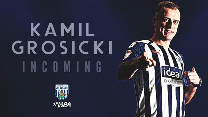 Eski Sivassporlu Kamil Grosicki, West Bromwich Albion'da
