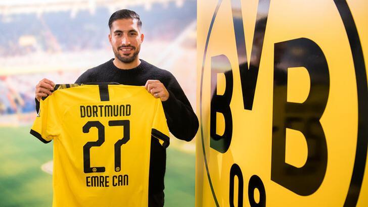 Transfer haberleri | Borussia Dortmund, Emre Can'ı açıkladı!