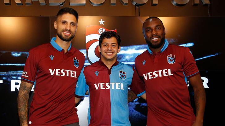Trabzonspor, Guilherme, Da Costa ve Manoel için imza töreni düzenledi