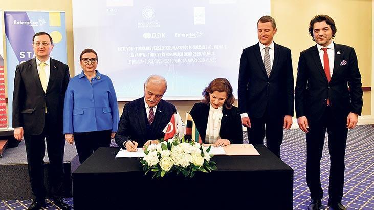 Türkiye Litvanya'ya 'iş' çıkarması yaptı