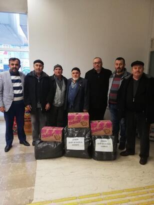 Çankırı Şehit ve Gaziler Derneği'nden depremzedelere gıda yardımı