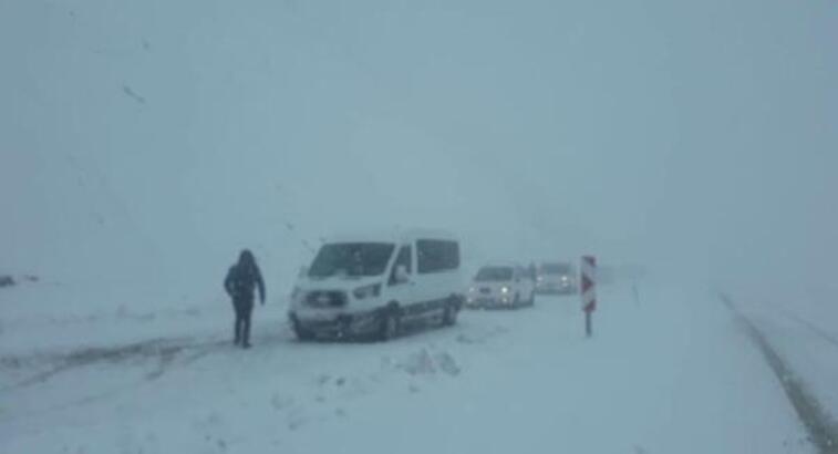 Bingöl- Erzurum karayolu ulaşıma kapandı