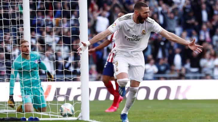 Real Madrid-Atletico Madrid: 1-0