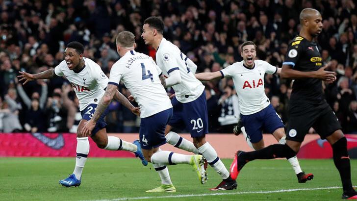 Manchester City, Tottenham'a yıkıldı! 2 gol sesi...