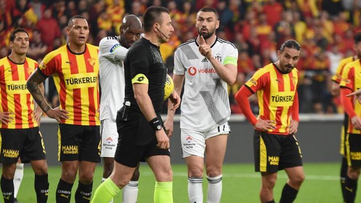 Beşiktaş'tan kural hatası açıklaması