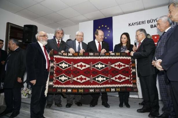 Kayseri'de Basın Evi açıldı