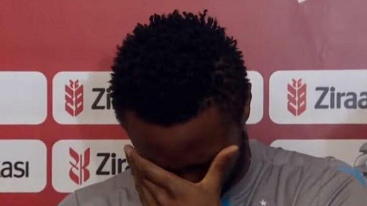 Obi Mikel gözyaşlarını tutamadı