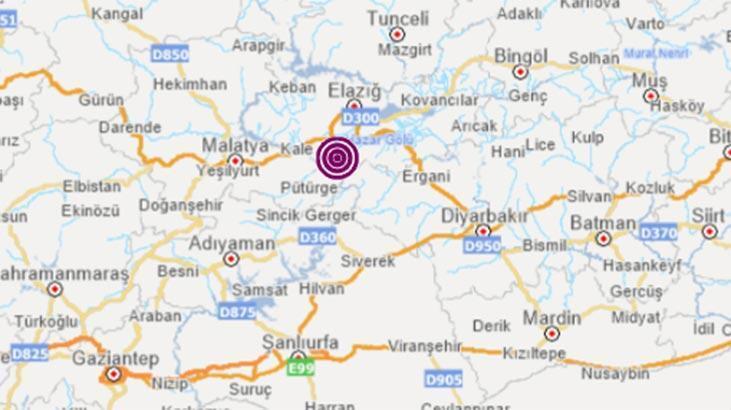 Son dakika haberi... Elazığ'da korkutan deprem