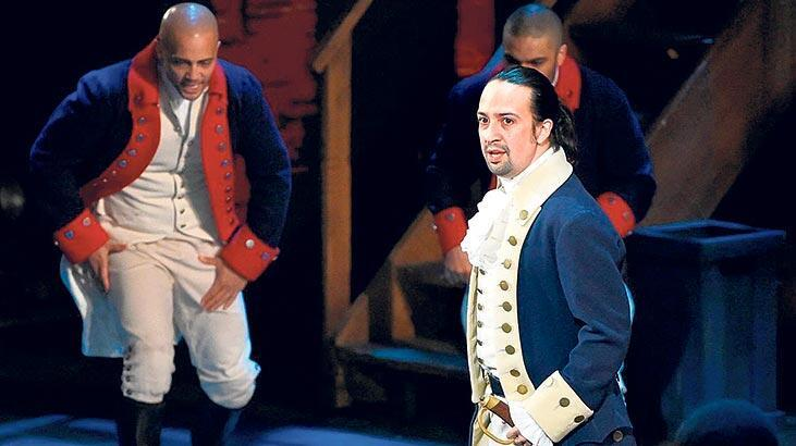 'Hamilton'ın film  uyarlamasına  75 milyon dolar
