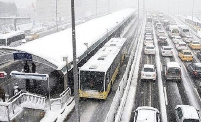 İstanbul hava durumu için peş peşe uyarılar!