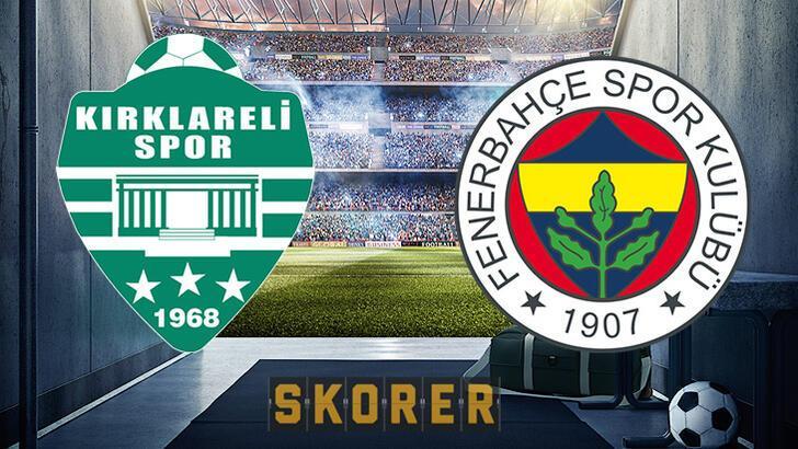 Kırklarelispor Fenerbahçe maçı ne zaman? Saat kaçta, hangi kanalda?