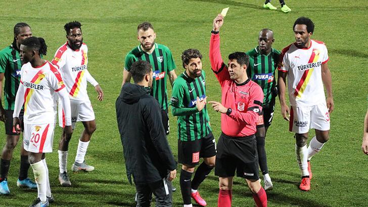 Denizlispor'da kulüp yönetiminden hakem tepkisi