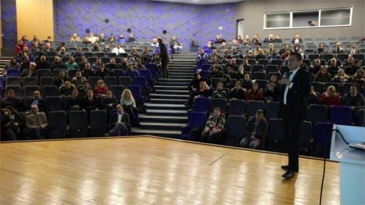 Bodrum'da belediye personeline iş sağlığı ve güvenliği eğitimi