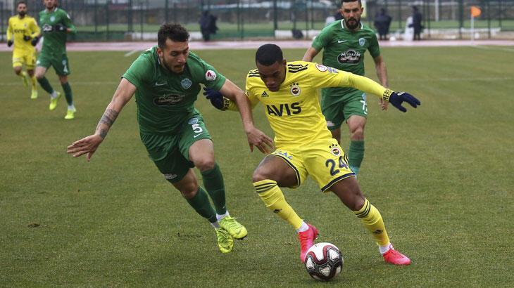 Kırklarelispor - Fenerbahçe: 0-3