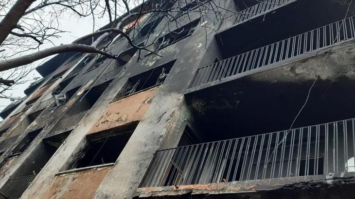 Siirt'te korkutan yangın! 10 kişi hastanelik oldu