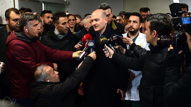 İçişleri Bakanı Süleyman Soylu: Adli Tıp'a giden vefat eden sayımız 33