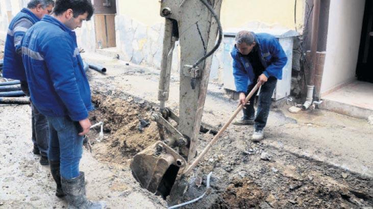 Türkmen Mahallesi yolları yenileniyor