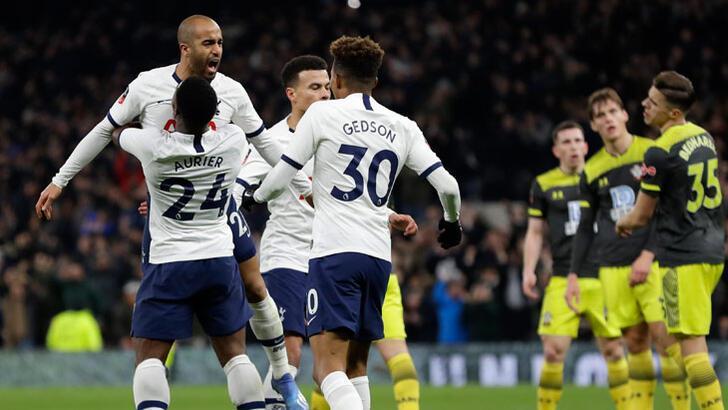 Tottenham, Federasyon Kupası'nda tur atladı