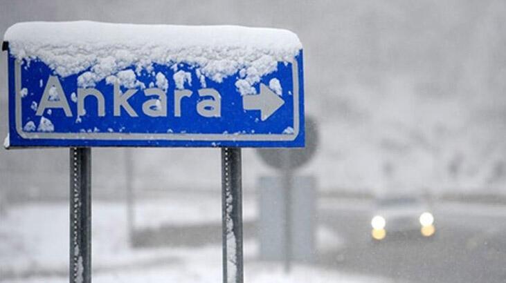 Ankara Valiliğinden kar tatili açıklaması geldi mi? Ankara'da okullar bugün tatil edilecek mi?