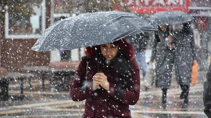 Son dakika haberi... Meteoroloji tek tek uyardı! Kar yağışı bu akşam başlıyor